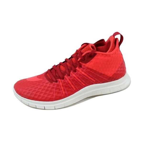 Nike Men's Free Hypervenom 2 FS Gym Red/Light Crimson-Ivory 805890-600