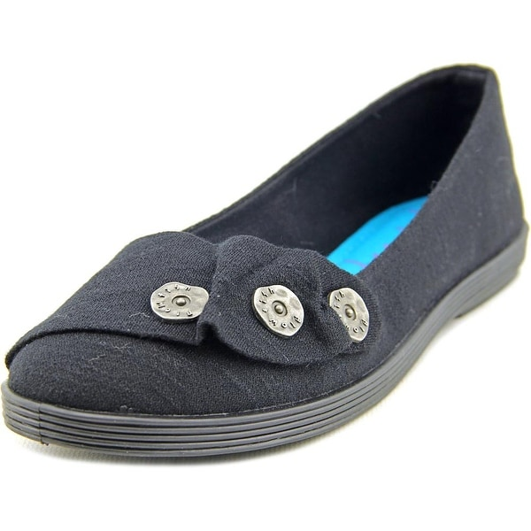 Blowfish Garden Women Round Toe Canvas Flats