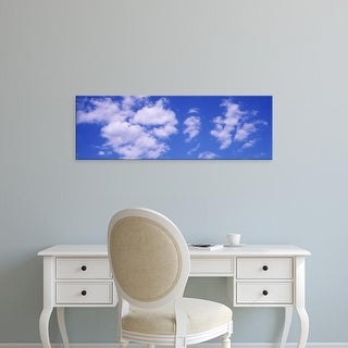 Easy Art Prints Panoramic Images's 'Clouds Marion County IL USA' Premium Canvas Art