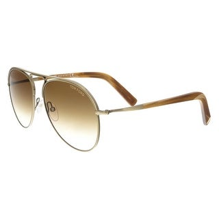 Tom Ford FT0448/S 33F Cody Bronze/Brown Aviator Sunglasses - 56-15-145