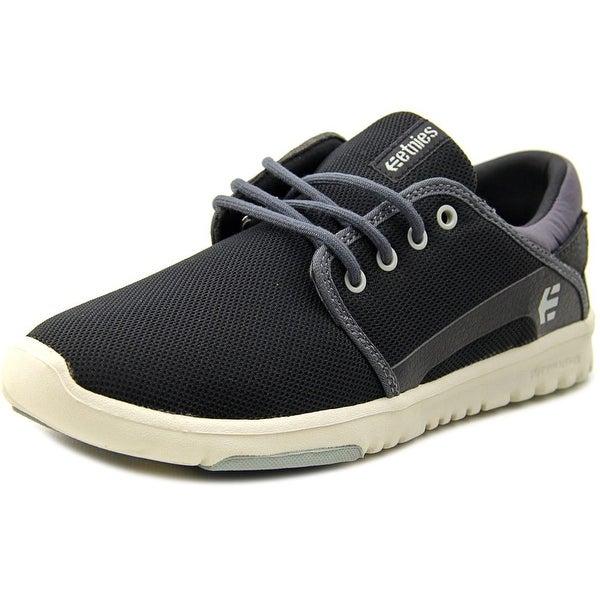 Etnies Scout Men Black/Dark Grey/Grey Skateboarding Shoes
