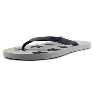 Tidal Patriot   Open Toe Synthetic  Thong Sandal
