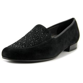 Ara Kendall Women N/S Round Toe Suede Black Flats