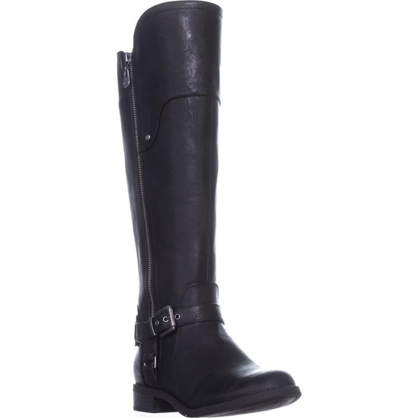 140aafb157bd8 Shop G by Guess Harson Tall Riding Boots, Black Multi - On Sale - Free  Shipping Today - Overstock - 19867658