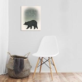 Easy Art Prints Ryan Fowler's 'Ursa Major' Premium Canvas Art