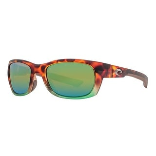 f510db15303 Shop Costa Del Mar Trevally GT77OGMP Matte Tortuga Fade 580P Green Mirror  Sunglasses - matte tortuga fade brown - 54mm-19mm-121mm - Free Shipping  Today ...
