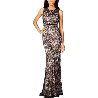Night Way Womens Evening Dress Lace Sequined