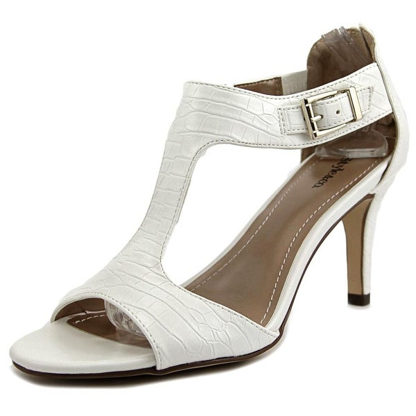 Style & Co Sachii Women Open-Toe Synthetic White Heels