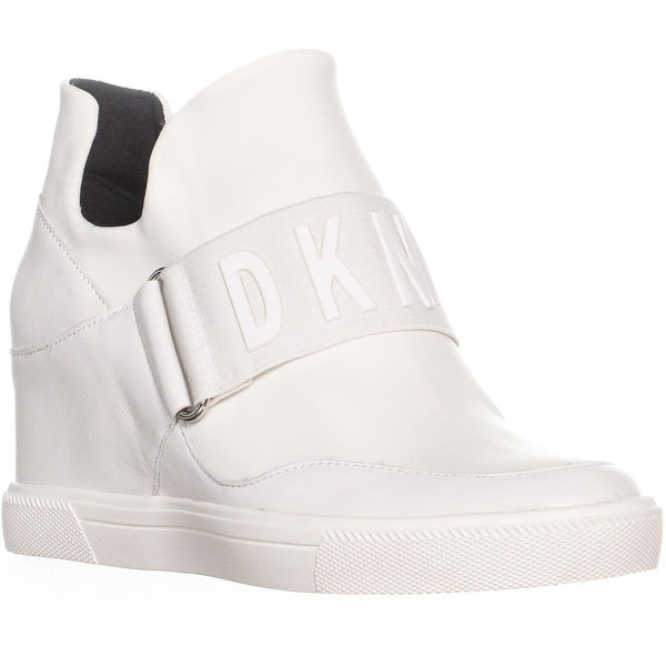 331a72d80fe7 Shop DKNY Cosmos Slip On High Top Wedge Sneakers