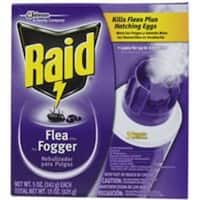 Raid 41654 Flea Killer Plus Fogger, 5 Oz