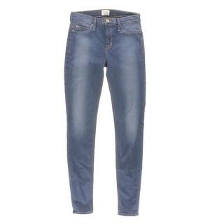 Hudson Womens Nico Denim Mid-Rise Skinny Jeans