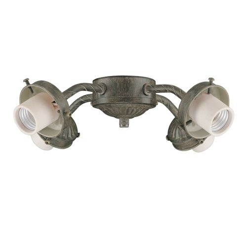 Concord Y-401CG 4 Light 240 Watt Light Kit with 60 Watt Intermediate Base Bulbs