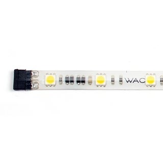 "WAC Lighting LED-T2430L-1-40 White 12"" Length 3000K High Output LED Indoor Tape Light - Package of 40"