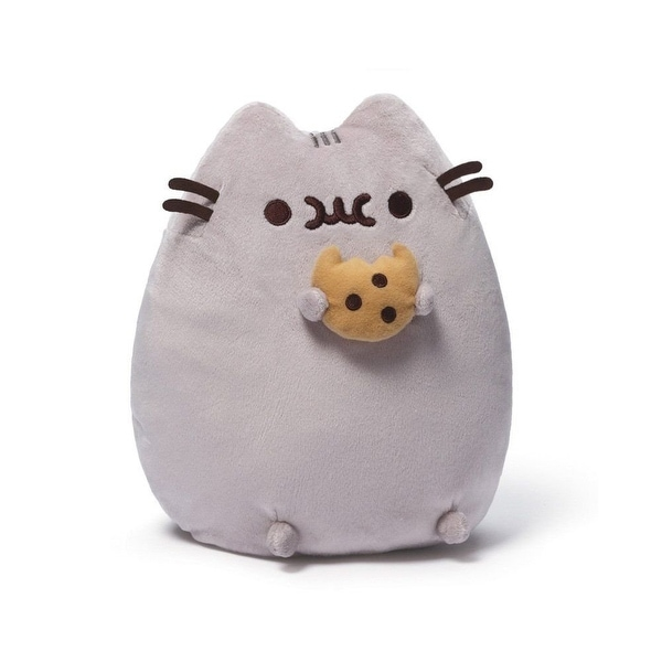 "Pusheen the Cat with Cookie 9.5"" Plush - multi"