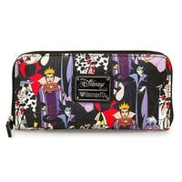 Disney Villans All Over Print Wallet - One Size Fits most