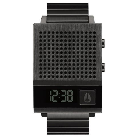 Nixon Men's Dork Too Black Dial Watch - A126-6001 - One Size