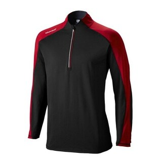 Wilson Staff US Men's Performance Thermal Tech 1/2 Zip Shirt Pullover WGA700400