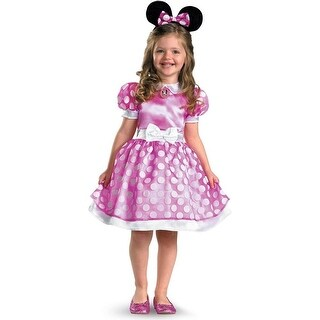 Pink Minnie Mouse Classic Costume