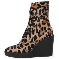 Aquatalia Womens Viviann Haircalf Fur Closed Toe Mid-Calf Fashion Boots - 7
