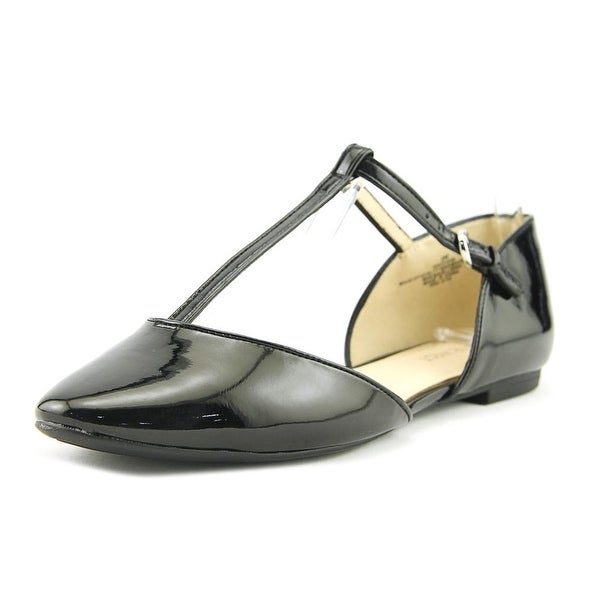 677f2688039f97 Shop Nine West Zenda Women Black Flats - Free Shipping On Orders ...