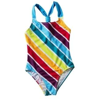 Maaji Girls Ruffle Trim Tankini Swimsuit Set Tankini Swimsuit