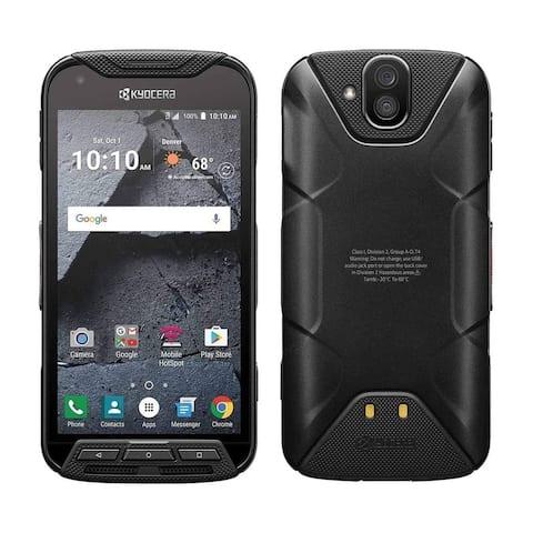 Kyocera DuraXV LTE E4610 Verizon Wireless Rugged Waterproof Refurbished Flip Phone - Black