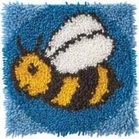 "Wonderart Latch Hook Kit 12""X12""-Bumblebee"