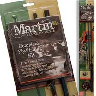Martin Fly Fishing Kit 8' 3pc