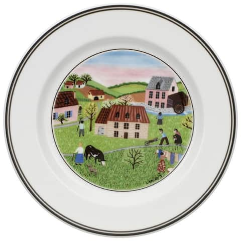 Villeroy & Boch Design Naif Bread and Butter Plate Spring Morning