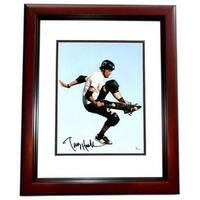 Tony Hawk Signed - Autographed Skateboarding 11 x 14 in. Photo