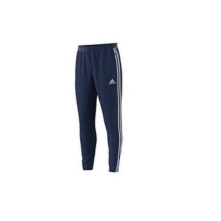 Adidas Mens Tito19 Training Pant, Adult, Dk Blue/White - dk blue/white