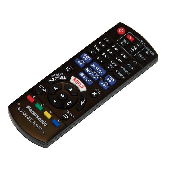 OEM Panasonic Remote Control Originally Shipped With: DMP-BDT270, DMPBDT270