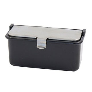 Unique BargainsCar Vehicle Plastic Rectangle Shape Portable Cigarette Smoke Ashtray Holder