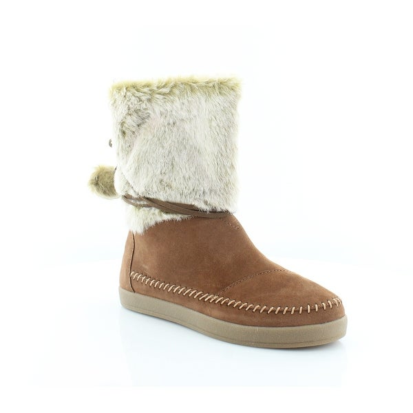 754a47e24d7 Shop TOMS Nepal Women s Boots Cognac - 7.5 - Free Shipping On Orders ...