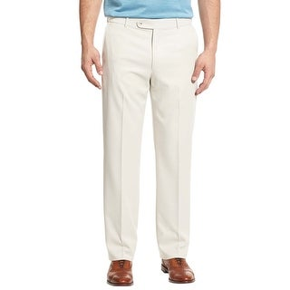Lauren Ralph Lauren Chinos Pants 34x34 Big and Tall Flat Front Classic Fit  Ivory