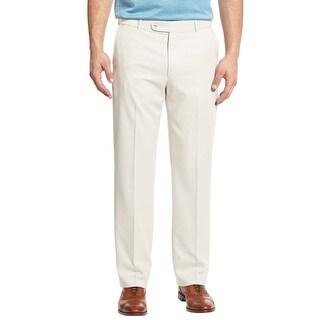 Lauren Ralph Lauren Chinos Pants 42x30 Flat Front Classic Fit Off White