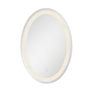 """Eurofase Lighting 33823 31-1/2"""" x 21-3/4"""" Oval Flat Lighted Vanity Mirror with C - N/A"""