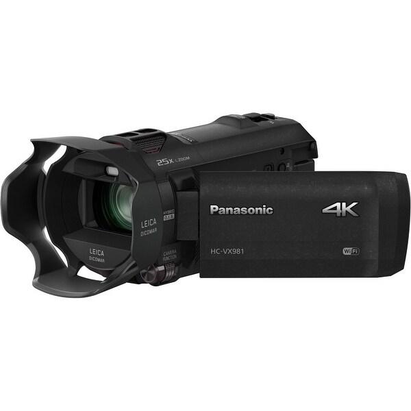 Panasonic HC-VX981K 4K Ultra HD Camcorder. Opens flyout.