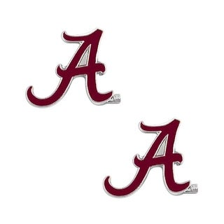 Alabama Crimson Tide Post Stud Earring NCAA Charm Set