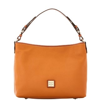 Dooney & Bourke Pebble Grain Large Courtney Sac (Introduced by Dooney & Bourke at $298 in Sep 2016) - Caramel
