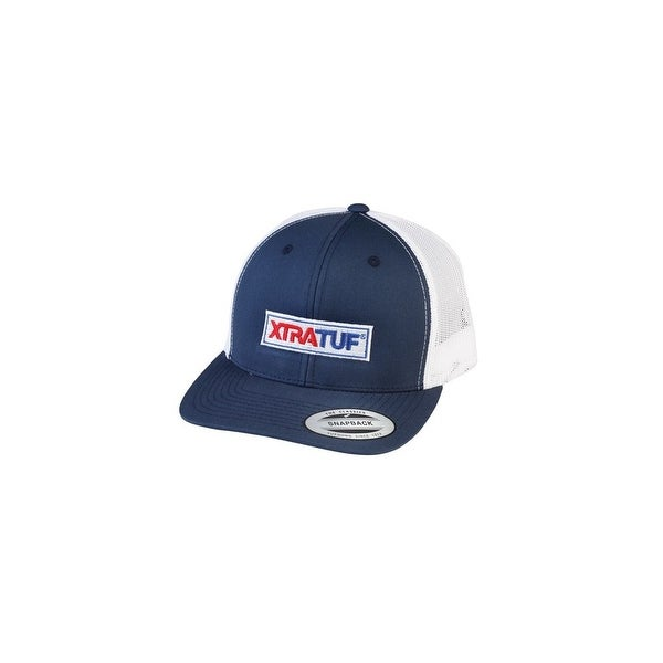 81c68bf25bd928 Shop Xtratuf Unisex Baseball Snapback Navy/White Cap w/ Holes for Efficient  Airflow - Free Shipping On Orders Over $45 - Overstock - 19818030