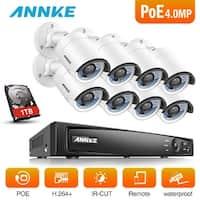 ANNKE 8CH 4MP HD Video PoE Network Video Cameras Surveillance System
