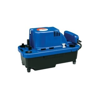 Little Giant 554530 VCMX 84 GPH 115V Automatic Condensate Removal Pump with 20' Cord and Safety Switch