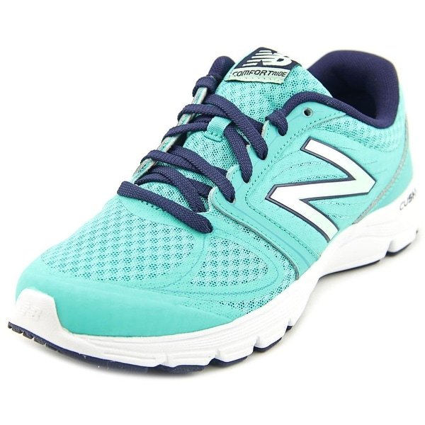 New Balance W575 Women Round Toe Synthetic Blue Running Shoe