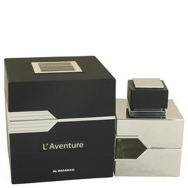 L'aventure by Al Haramain Eau De Parfum Spray 3.3 oz - Men