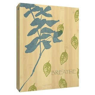 "PTM Images 9-154515  PTM Canvas Collection 10"" x 8"" - ""Breathe"" Giclee Branches Art Print on Canvas"