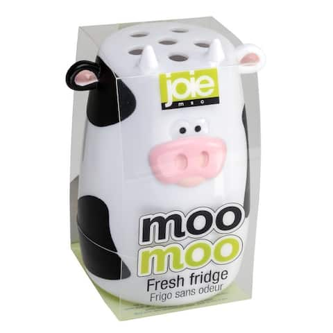 Joie Moo Moo Fresh Fridge Refrigerator & Freezer Baking Soda Holder Odor Absorber