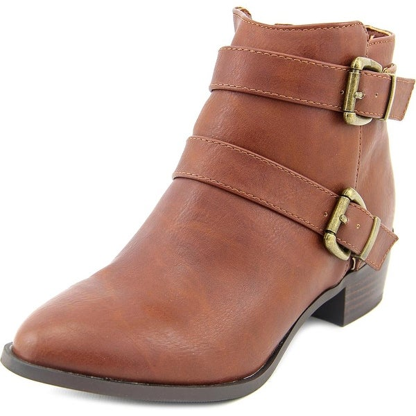 Cady Women Round Toe Synthetic Bootie