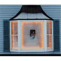 NorthLight The Window Wonder For Christmas Lights - 4 Rod Pack