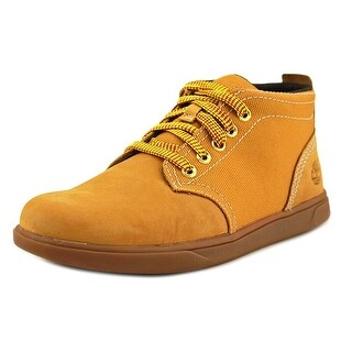 Timberland Groveton Round Toe Leather Chukka Boot